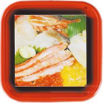 おもしろメモ帳 海鮮丼
